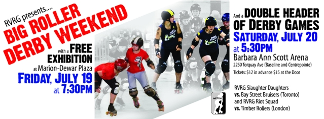 Roller Derby Weekend