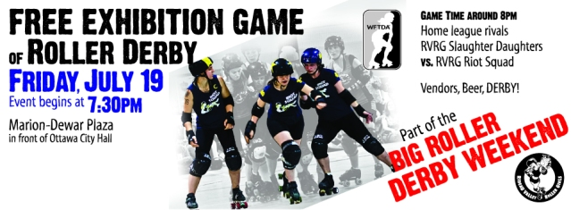 Roller Derby Game July 19