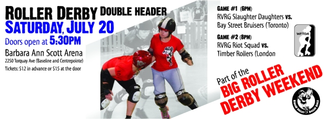 Roller Derby Game July 20