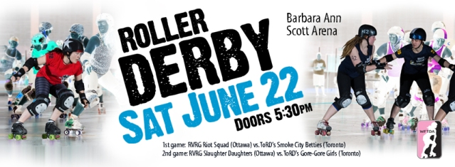 June 22 Roller Derby Games